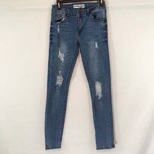 Monkey Ride Distressed Jeans
